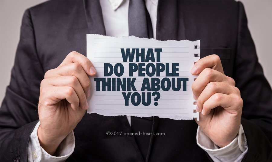 What do people think of you